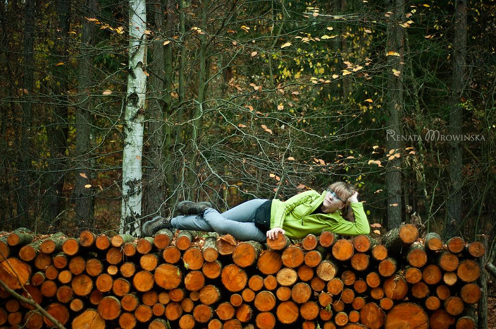 rudo-zielona jesień