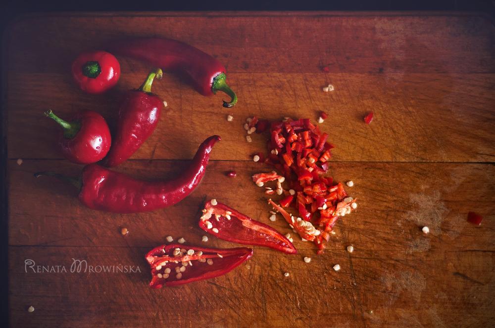 jak kroić papryczki chilli