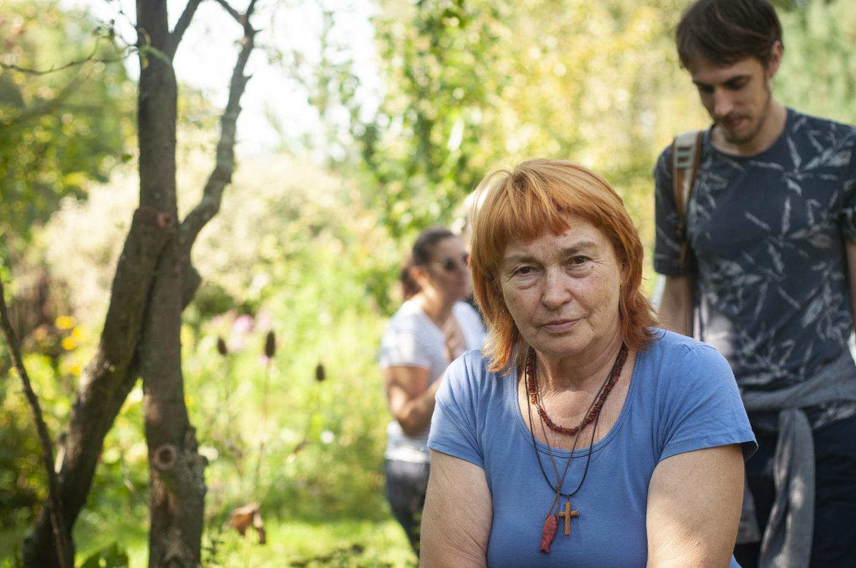 ogród ziołowy Ewy i Jurka